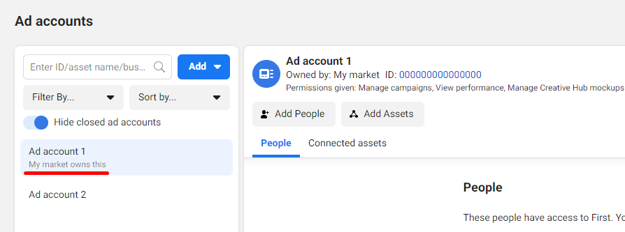 add ad account to business manager